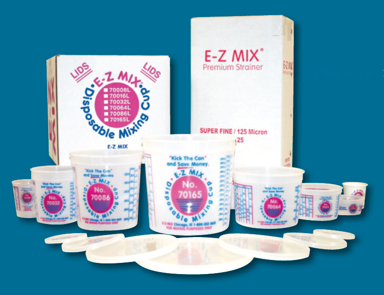 E Z Mix Lids Mc Supply